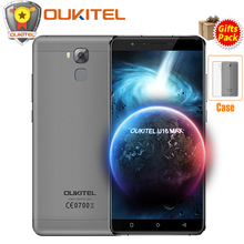 Original Oukitel U16 Max 4G Mobile phone 6.0 Inch MT6753 Octa Core Android 7.0 3GB+32GB 13MP Fingerprint ID 4000mAh Smartphone(China)