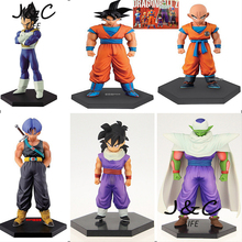 Hot Japanese Anime Figure Dragon Ball Z Son GOKU Krillin Torankusu Piccolo Son Gohan Vegeta Action Figure Scale Doll PVC Figure