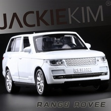 High Simulation Exquisite Collection Baby Toys: Super Star Car Styling Range Rover Model 1:32 Alloy SUV Car Model Best Gifts(China)