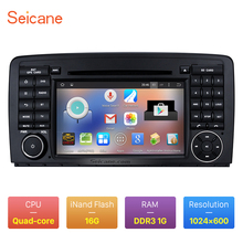 Seicane Android 5.1.1 GPS Audio System for 2006-2013 Mercedes Benz R Class W251 R280 R300 R320 R350 R63 with DVD WiFi Bluetooth(China)