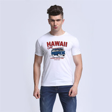 t shirt homme 2017 HAWAII Coast BUS PACIFIC OCEAN 1983 Design Summer Heat Men Funny T-shirts Fashion Tops Tee compression shirt