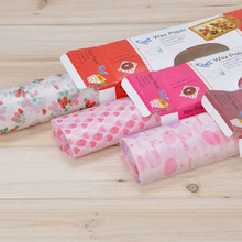 2016 4 Style Candy Cake Packaging Wax Paper Food Wrapping Papers Good Material Pink Party Birtyday Design Hot Sale Freeshipping(China)