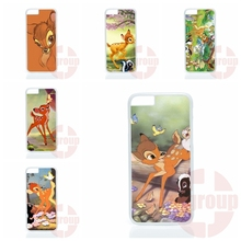 Best Cases 2016 bambi For Apple iPhone 4 4S 5 5C SE 6 6S 7 7S Plus 4.7 5.5 iPod Touch 4 5 6