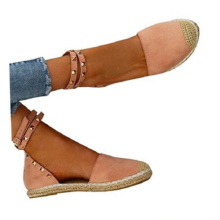 Women Sandals Fashion Peep Toe Summer Shoes Woman Faux Suede Flat Sandals Size 35-43 Casual Shoes Woman Sandals Zapatos Mujer (18)