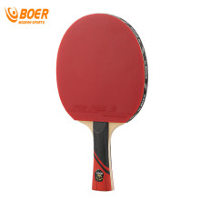 BOER 3 Star 7 Layer Full Wood Carbon Fiber Table Tennis Racket Rubber Ping Pong Paddle Handle Double Face Table Tennis Rackets(China)