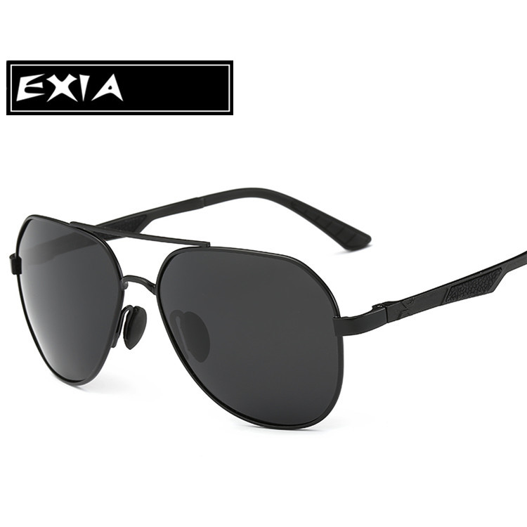 AR Blue Coatings Lenses with Black Frame Sunglasses Polarized Men Eyewear Top Quality Brand EXIA OPTICAL KD-8125 Series<br><br>Aliexpress