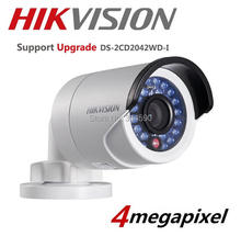 Hikvision Original DS-2CD2042WD-I Full HD 4MP High Resoultion  POE IR IP Camera English Version  Network CCTV Camera