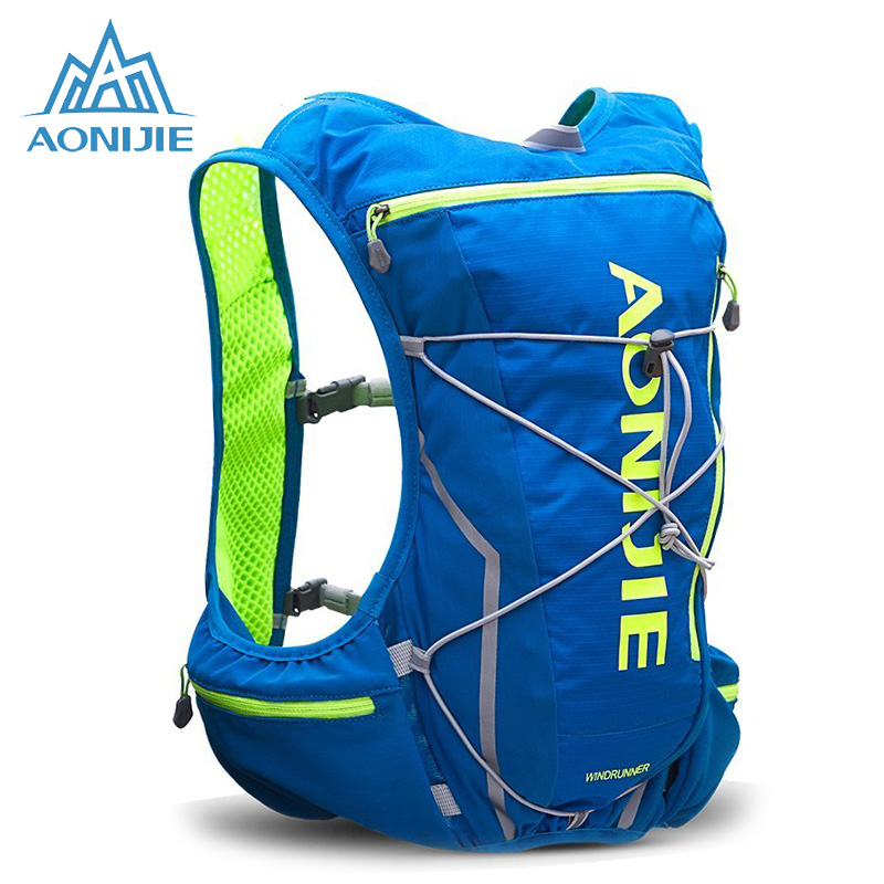 AONIJIE Running Hydration Pack Backpack for Men 10L Deluxe Running Race Hydration Vest Outdoors Mochilas for Marathon Running<br>