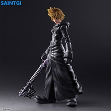 SAINTGI Kingdom Hearts Roxas PVC 23CM Animated Action Figure Collection Model game figure Dolls Kids Toys Free Shipping(China)