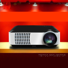 1280x800 3000 Lumens HD Home Cinema Multimedia Projector,Support Red/Blue 3D,HDMI TV USB VGA,EMS/DHL Free Shipping