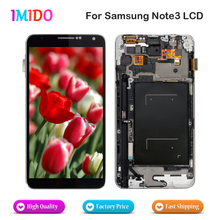 China supplier LCD Display For Samsung Galaxy Note3 N9005 N900A N900T N9000 LCD Display Touch Screen Digitizer Assembly+Frame(China)