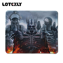 6 pieces New Witcher Picture Anti-Slip Laptop PC Mice Pad Mat Mousepad Games Rubber Mouse Pad For Optical Laser Mouse