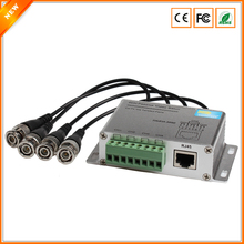 BESDER CVI TVI AHD 4CH Passive Video Balun UTP Video Balun CCTV Via Twisted Pairs With Male Connector To UTP RJ45 Up to 450M