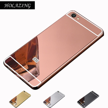 Buy HOLAZING 2 1 Detachable Metal Aluminum Bumper Frame Case Xiaomi Redmi Note 5A 5.5 Standard Mirror Back Hard Cover for $2.60 in AliExpress store