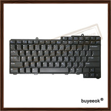 Original Black Laptop US Keyboard Replacement Without Backlight For DELL Latitude D520 D520N D530 PP17L PP19L Tested Well