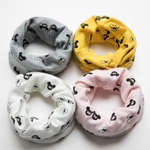 New Hot Sale Winter Autumn Fashion Kids O Ring Warm Soft Cotton Scarf Children Beautiful Shawl Popular Scarves Wraps