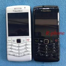 Original Refurbished BlackBerry Pearl 9105 Mobile Phone 3G GSM WiFi Smartphone Quadband Unlocked & White & One year warranty