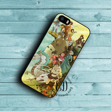 Design My Neighbor Totoro case for iphone X 4s 5 5s SE 5c 6 6s 7 8 plus Samsung s3 s4 s5 mini s6 s7 s8 edge plus Note 3 4 5 8(China)