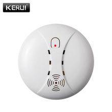 433MHz Portable Alarm Sensors Wireless Fire Smoke Detector For All Of Home Security Alarm System In Our Store Smoke Sensor Alarm(China)