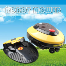 Robotic lawn mower L1000 8A Intelligent Robot Mower low noise Automatic Rechargeable Lawn Mower,  Father's Day Gift