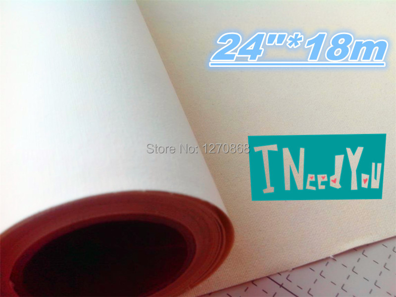 Manufacturer 380g waterproof matte surface 100% cotton inkjet canvas roll 18m per roll