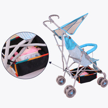 New Baby Stroller Storage Basket Botton Net Bag Pram Bottle Diapers Organizer Umbrella Stroller Accessories bebek arabasi