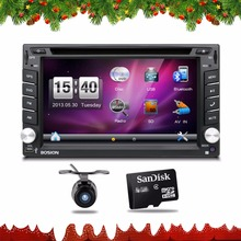 2din car stereo systems Double din dvd player for car gps navigation In dash Car PC Stereo Head Unit video+Free Map Card Parking(China)