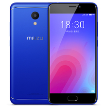 Original Meizu M6 3G 32G 4G LTE Smart phone 5.2'' 2.5D HD 3070mAh 13.0MP Fingerprint Dual SIM Android 7 fashion Mobile phone(China)