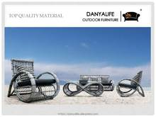 DYSF-D441F Danyalife 2015 New Hgh Quality Weatherproof Outdoor Rattan Sofa Set