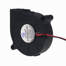 50pcs/lot Gdstime 5015S 50x50x15mm 50mm 12V DC Blower Fan 5015 Centrifugal Computer PC Cooling Case Cooler
