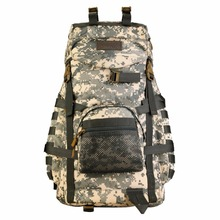 55L Tactical MOLLE Assault Backpack Pack Large Waterproof Bag Rucksack Sport Outdoor Gear for Hunting Camping Trekking 155