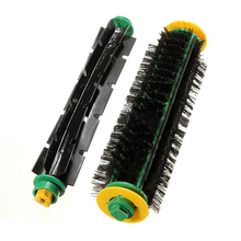 HGHO-Bristle Brush + Flexible Beater Brush For iRobot Roomba Clean