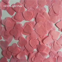 10g/bag 1inch=2.5CM Light Pink Heart Paper Confetti Wedding Balloon Table Decorations Party Event