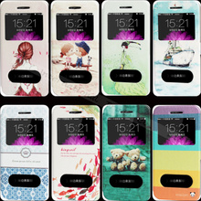 6 6S Wholesale Price Painting Shy Girl Noble Princess Case For Apple iPhone 6 6S Cases Phone Shell Flip Cover 2017 Top Fashion !