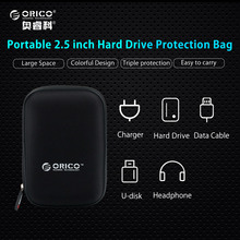 "ORICO PHD-25 2.5"" 2.5 Inch HDD Protection Bag for External Hard Drive HDD & SSD-Black/Blue/Green/PurPle/Red(China)"