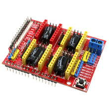 New 3D Printer parts A4988 Driver CNC Shield Expansion Board for Arduino V3 Engraver 3D Printer(China)