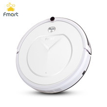 Fmart FM-R150 Smart Robot Vacuum Cleaner Cleaning Appliances 128ML Water Tank Wet 300ML Dustbin Sweeper Aspirator 3 in 1 Vacuums(China)