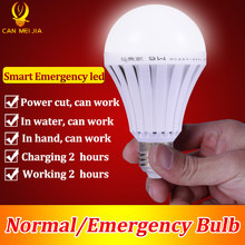 LED Smart Rechargeable E27 Emergency Light Bulb Lamp Home Commercial Outdoor lighting B22 5W 7W 9W 12W 220V Energy Saving Lamp(China)