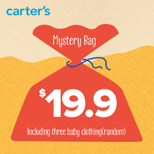 Carter's Mystery Bag including three baby clothing NB-24M (random), sold by Carter's China official store(China)