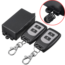 1CH Wireless Relay Remote Control Switch 220V 10A 315MHZ Remote Control Switch Transmitter + Receiver(China)