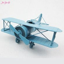 Jia-Gui Luo Retro metal plane model office desktop furnishing articles of handicraft contracted interesting gift