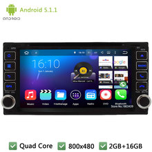 Quad core Android 5.1.1 2Din WIFI DAB+ Car DVD player GPS Stereo Radio For TOYOTA RAV4/Camry/Corolla/Vitz/Echo/VIOS/HILUX/Terios(China)
