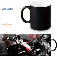Kimi Raikkonen Colour Change Morphing Mug Heat Sensitive Magic Morph Coffee Mugs 350ml/12oz