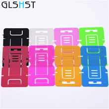 GLSHST Rectangle Fold Pop 1 Pcs Car Silicone For Android pad Phone Lucky Keep Car Holder Stand Hand Mount For Iphone All mobile(China)