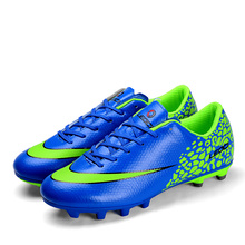 NEW Adults Men's Outdoor Firm Ground Soccer Cleats Shoes FG Football Trainers Sport Sneakers EU SIZE 39--44
