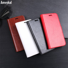 Amvykal For iphoneX iphone X Wallet Case Soft TPU Case + Black Red Brown Luxury Leather Flip Cover With Card Holder Stand Coque(China)