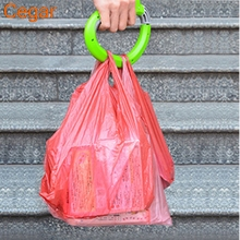 1Pc One Trip Grips Shopping Grocery Bag Carrier Handle Holder Lock Labor Shopping Bags Holder Carrier Tool D Shape For Shopping(China)