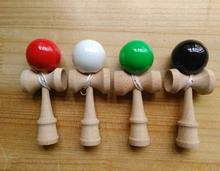 3cm Kendama Professional Wooden Toy Kendama Skillful Juggling Ball Game Toy Gift For Children Adult Random Color(China)