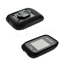Outdoor Bycicle Road / Mountain Bike Accessories Rubber Black Protect Case for Cycling Training GPS Polar M450