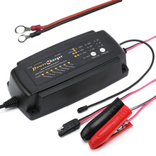 12V 2A/4A/8A SELECTABLE 7-Stage Smart Car Battery Charger Maintainer & Desulfator for AGM GEL WET Batteries 6-160AH